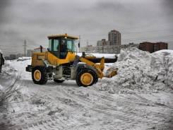 Снегоуборочные работы. Услуги трактора. Уборка снега. Вывоз снега.