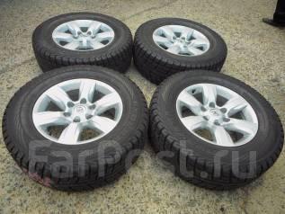Продаю зимний комплект колес Land Cruiser Prado150 на 17(6*139.7). 7.5x17 6x139.70 ET25