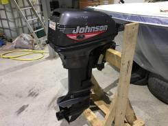 Johnson. 9,90л.с., 2-тактный, бензиновый, нога S (381 мм), Год: 1999 год