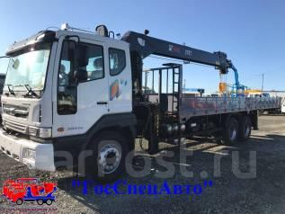 Daewoo Novus. 15,5 тонн HIAB 270 (2017год), 10 964 куб. см., 15 500 кг.