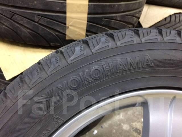 Yokohama Ice Guard IG20. Зимние, без шипов, износ: 20%, 2 шт