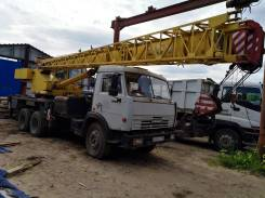 Галичанин КС-55713-1. Продается автокран Галичанин КС 55713-1 на шасси Камаз 53215, 25 000 кг., 21 м.
