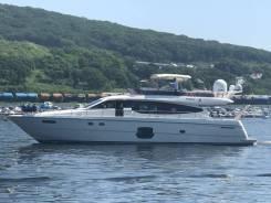 Аренда роскошного фешенебельного катера, моторной яхты 66ф. 15 человек, 60км/ч