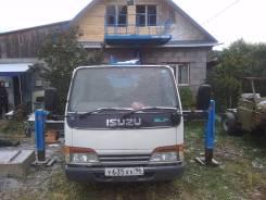 Isuzu Elf. Автовышка-платформа (поворотная ), 4 500 куб. см., 12 м.