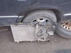 Радиатор охлаждения двигателя. Toyota Corolla, CE100, CE100G Двигатель 2C
