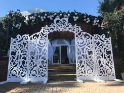 Королевская свадебная арка в аренду. Доставка в подарок!