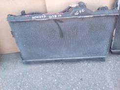 Радиатор охлаждения двигателя. Toyota Altezza, GXE15W, GXE15 Двигатель 1GFE