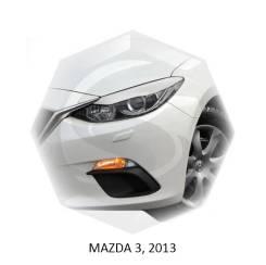 Накладка на фару. Mazda Mazda3, BL Двигатели: MZRCD, MZR, MZRDISI, LF17, BLA2Y, R2AA, LF5H, L5VE, Z6, Y655, Y650