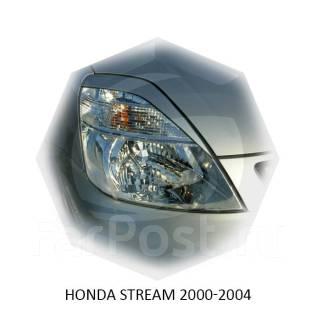 Накладка на фару. Honda Stream, RN1, RN2, RN3, RN4 Двигатели: D17A, D17AVTEC, D17A2, K20A, K20AIVTEC, K20A1