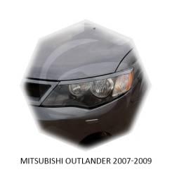 Накладка на фару. Mitsubishi Outlander
