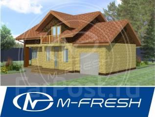 M-fresh Mellicano-зеркальный (проект 1-этажного дома). 100-200 кв. м., 1 этаж, 4 комнаты, комбинированный
