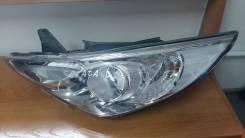 Фара. Hyundai Sonata, YF Двигатель G4KA