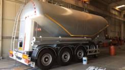 Nursan. Цементовоз алюминиевый 32 м3, новый, 31 997 кг.