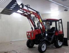 МТЗ 320. Трактор Беларус-320.4М с навеской (2016)