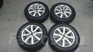 Продам отличный комплект колёс на летней резине Bridgestone R14. 5.5x14 4x100.00 ET38 ЦО 75,0мм.