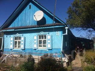 Дом в с. Углекаменск. Улица Фадеева, р-н Фадеева, площадь дома 40кв.м., электричество 5 кВт, отопление твердотопливное, от частного лица (собственни...