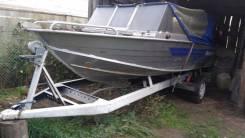 Windboat. Год: 2012 год, длина 4,55м., двигатель подвесной, 40,00л.с., бензин