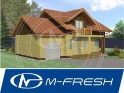M-fresh Mellicano (Проект дома со встроенным гаражом! ). 100-200 кв. м., 2 этажа, 4 комнаты, комбинированный