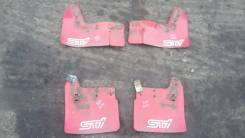 Брызговики. Subaru Impreza WRX STI, GDB, GD, GGB
