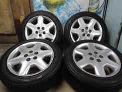 Продам Отличные под Чёр. Хром Toyota Celsior+Зима Жир215/55R17. 7.5x17 5x114.30 ET45