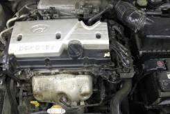 Двигатель в сборе. Hyundai Verna