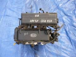 Двигатель в сборе. Kia Rio