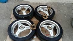 Диски литые с резиной 4 ШТ. RAYS VOLK Racing C-Ultra. 7.0x17 5x114.30 ET49