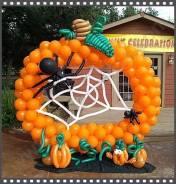 Тыквы на Хэллоуин.