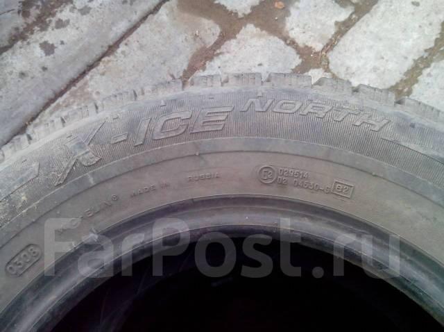 Michelin X-Ice North. Зимние, шипованные, 10%, 4 шт