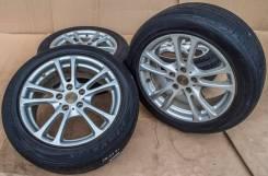 Легкосплавное литьё Bridgestone C. T. S 7Jx17'' 5x114.3 ET49 D73.1. 7.0x17, 5x114.30, ET49, ЦО 73,1мм.