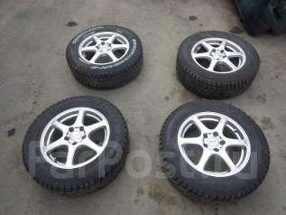 Продам зимние колеса на литье Yokohama Geolandar I/T-S 215/65 R16. x16 5x114.30