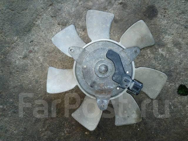 Вентилятор радиатора кондиционера. Nissan March, ANK11 Двигатели: CGA3DE, MA09ERT, MA09RT, MA10ET, MA10T