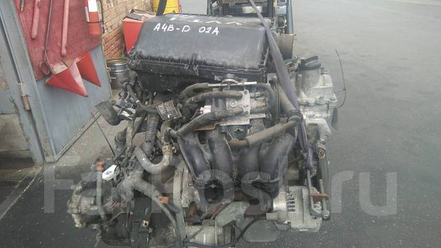 Двигатель SUBARU DEX, M411F, K3VE, GB0331, 0740036298