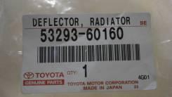 Накладка на рамку радиатора TOYOTA PRADO, TRJ150, 2TRFE, 5329360160, 4400000299