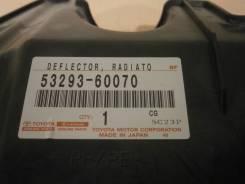 Накладка на рамку радиатора TOYOTA LAND CRUISER, URJ200, 3URFE, 5329360070, 4400000175