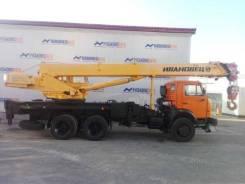 Ивановец КС-45717К-1. Автомобильный кран КС-45717К-1 Ивановец, 4 300 куб. см., 25 000 кг., 21 м.