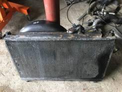 Радиатор охлаждения двигателя. Toyota Mark II, JZX100 Toyota Chaser, JZX100 Toyota Cresta, JZX100 Двигатель 1JZGTE