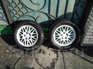 Продаю зимние шипованные шины Continental на литых дисках R15. 6.0x15 5x114.30 ET40