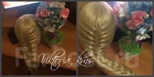 Прически, плетение кос