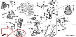 Подушка двигателя. Honda Avancier, LA-TA2, GH-TA1, LA-TA1, GH-TA2 Honda Odyssey, GH-RA7, GH-RA6, LA-RA7, LA-RA6 Двигатель F23A