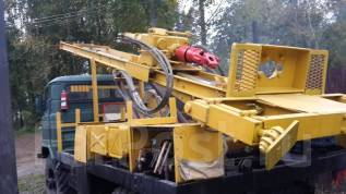 ГАЗ 66. Буровая установка на шасси , 4 254 куб. см., 3 000 кг.