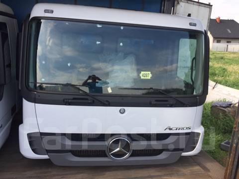 Кабина. Mercedes-Benz Actros