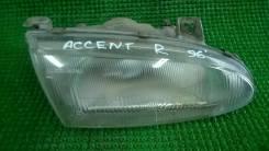 Фара. Hyundai Accent