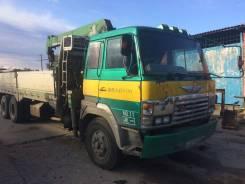 Hino. Продам грузовик с краном тадано 504 мотор под замену, 20 000 куб. см., 10 000 кг.