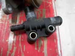 Тройник патрубков охлаждающей жидкости. Chevrolet Lanos Двигатель A15SMS
