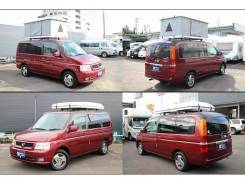 Honda Stepwagon. автомат, 4wd, 2.0, бензин, 62 690 тыс. км, б/п, нет птс. Под заказ