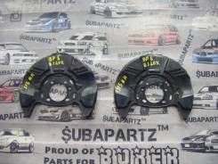 Кожух тормозного суппорта. Subaru Exiga, YA5 Subaru Legacy, BL9, BMG, BRG, BRF, BP5, BL5, BPE, BP9, BLE, BR9, BM9, BPH Subaru Forester, SJG Двигатели...