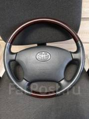 Руль. Toyota: Celsior, Avensis Verso, Alphard, Land Cruiser Prado, Hilux Surf, Brevis, Camry Gracia, Avalon, Hiace, Camry, Avensis, Aristo, Chaser, Co...