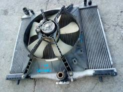 Радиатор охлаждения двигателя. Daihatsu Terios, J100G, J122G, J102G Daihatsu Terios Kid, J131G, 111G, J111G Toyota Cami, J102E, J100E, J122E Двигатели...