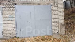 Гаражи капитальные. улица Угловая 48, р-н Сахпоселок, 38кв.м., электричество, подвал. Вид снаружи